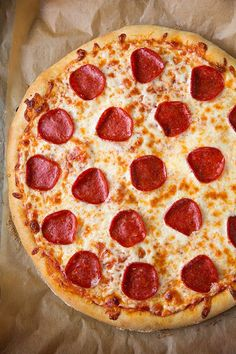 Pepperoni Pizza (Homemade Dough and Pizza Sauce Recipes) - Cooking Classy