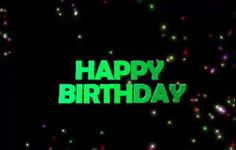 Happy Birthday Text Whatsapp Animation