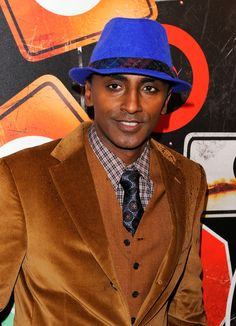 Marcus Samuelsson Photos - Celebrity chef Marcus Samuelsson attends the GO International Designer Collective Launch at the Ace Hotel on March 2011 in New York City. - GO International Designer Collective Launch Lena Horne, Fall Forward, I Chef, Fashion Artwork, Solange Knowles, Handsome, Product Launch, Mens Fashion, Elegant