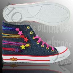 Punkrose SARA High Sneaker Dunkelblau