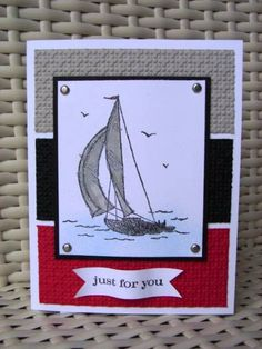 Sail Away by stamp my day - Cards and Paper Crafts at Splitcoaststampers