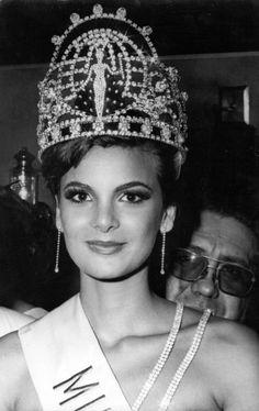 Maritza Sayalero Fernández Miss Venezuela 1979 y Miss Universo 1979