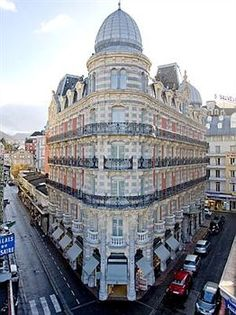 Grand Hotel Moderne, Lourdes, France We stayed here. Bernadette Of Lourdes, Our Lady Of Lourdes, Beautiful Paris, Visit France, Space Travel, Grand Hotel, Beautiful Architecture, Pilgrimage, Hotels And Resorts