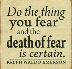 Kill fear !!