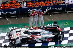 2014 24 Hours of Le Mans: Triumph at Le Mans: Audi defeats Porsche and Toyota!!