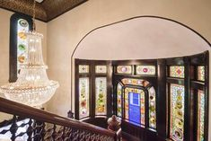 This grand Queen Anne Romanesque Revival home sits on a perch overlooking historic Melville Avenue's architectural gems. Long a local landmark, it was designed by City Architect Arthur H. Vinal for his family and has been respectfully cared for by the current owners for over fifty years. Spectacular museum quality features include 10' coved ceilings, four intricately carved tiled fireplaces, parquet flooring with elaborate inlays and a grand Tara staircase rising to a stunning stained glass…
