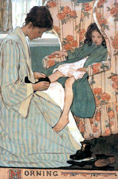 Mother's Morning by Jessie Willcox Smith