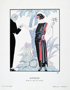 george barbier -  esperez - july 1922Tumblr
