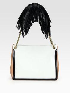 Christian Louboutin Artemis Fringe Shoulder Bag