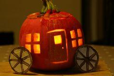 Create with your hands: Cinderella Pumpkin Lantern