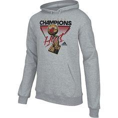adidas Miami Heat 2012 NBA Finals Champions Locker Room Hoodie