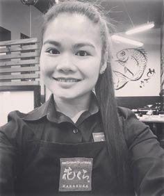 Nuestra encantadora camarera Karenchan! #hanakura