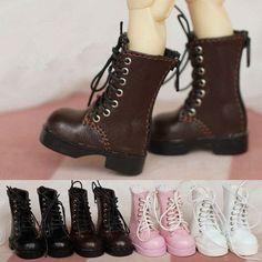 Half Boots For 1/6BJD, YOSD, kikipop, AI, AS, Doll | Doll Accessories | Doll Boot, Doll Shoes