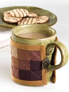 Quilting - Unique Project Patterns - Coffee Cup Cozy