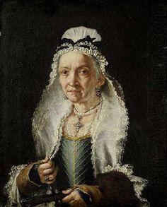 Portrait of an Old Lady, 1720 - 1750, by circle of Frá Galgario (Giuseppe Vittore Ghislandi) (Italian, 1655–1743).