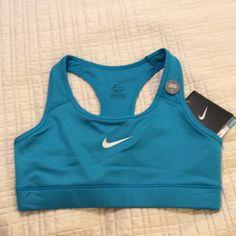 Small, Nike, NWT, Dri-Fit, Sports Bra Small, Nike, NWT, Dri-Fit, Stay Cool, Sports Bra.  Beautiful color. Nike Other