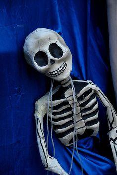Sad Skeleton Oaxaca by Ilhuicamina, via Flickr