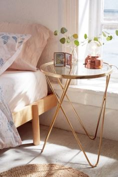 Shop Hollyce Side Table at Urban Outfitters today. We carry all the latest styles, colors and brands for you to choose from right here.