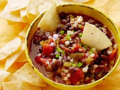 Homemade Salsa from FoodNetwork.com