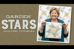 Make a Garden Stars Quilt with Jenny!