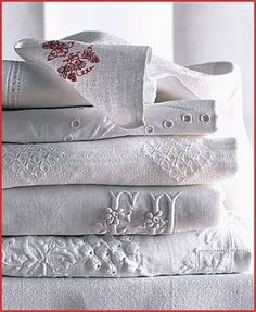 Georgeous old linens !