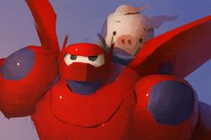 Took my boy to #BigHero6! Totally blew me away. One of the most beautifully executed films in recent years.