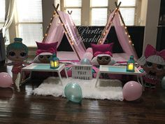 Teepee Party, Kids Teepee Tent, Tents, Girl Spa Party, Sleepover Party, Slumber Parties, Surprise Birthday, 9th Birthday, Birthday Ideas