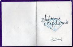 """""""El Diamante Espeluznante"""" - Cuento PopUp de Espantos: Alondon / Textos: Atenea Portada"""