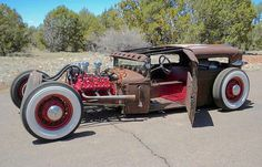 This RatRod is all about the simple things - Power. Custom Design