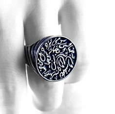 ALANGOO - Handmade Persian Calligraphy Ring