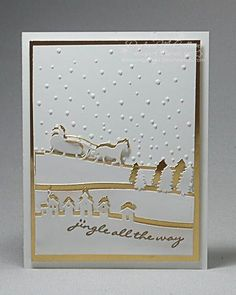 Golden Jingle All the Way by darhm - Cards and Paper Crafts at Splitcoaststampers