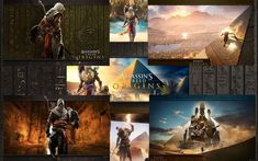 18 fonds d'écran de Assassin's Creed Origins par Favorisxp.