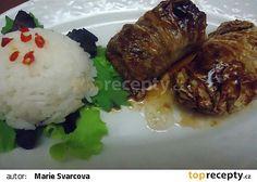 Vietnamské vepřové závitky v čínském zelí recept - TopRecepty.cz Pork, Beef, Chicken, Indie, Kale Stir Fry, Meat, Pigs, Ox, Ground Beef