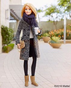 Keeping it Classic and chic with @ugg! This look is cozy to boot. #sponsored #thisisUGG #barbie #barbiestyle