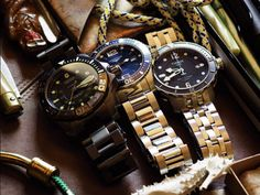 Some of the best diver watches you'd find within the median price range. There's a Tissot in here!