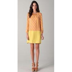 Jill Stuart Lena Print Long Sleeve Dress - YouAreWorthIt.co