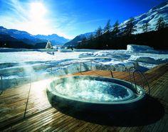 Suvretta House in Switzerland #spa #luxury