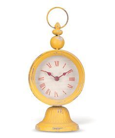 Anna Tabletop Clock by Foreside