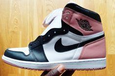 62b05c460b05bc Nigel Sylvester Teases Never-Before-Seen Air Jordan 1. Sneaker ReleaseBlack  ToePink ...