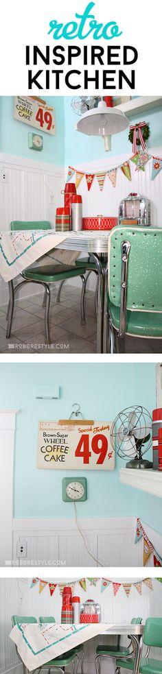 Kitchen Corner Makeover (part DIY Retro Inspired Kitchen Dining Area - by DIY Retro Inspired Kitchen Dining Area - by