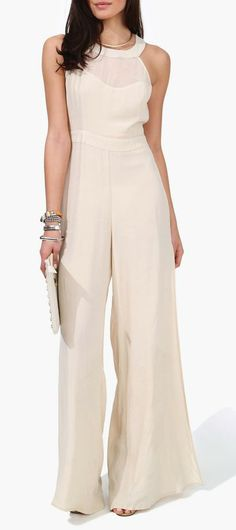 Boho Panel Jumpsuit Use tomesode. Passion For Fashion, Love Fashion, Fashion Beauty, Womens Fashion, Chic Outfits, Summer Outfits, Dress Codes, Palazzo, Dress To Impress