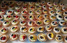 Φανταστικά ταρτάκια : Υπέροχη ιδέα για γλυκό βάφτισης,για το παιδικό πάρτυ,για τη γιορτή η απλά οτάν θες να φας ενα πεντανόστιμο γλυκο! Υλικά Κρέμα για ταρτακια 1 λίτρο γάλα 3 αυγά 1 βανίλια 120 γραμμάτια κορν φλαουρ 200 γραμμάρια ζάχαρη Ανακατεύετε όλα τα Cheesecake Cupcakes, Cheesecake Brownies, Mini Cupcakes, Food Network Recipes, Food Processor Recipes, Cooking Recipes, The Kitchen Food Network, Dessert Recipes, Desserts