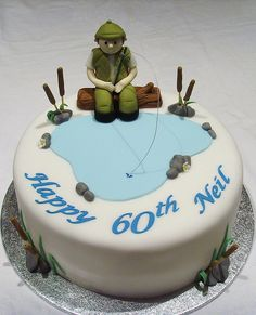 knots instructions, quotes funny, fishing fishing gui… – Famous Last Words Fish Cake Birthday, 60th Birthday Cakes, Cakes For Men, Cakes And More, Fisherman Cake, Cake Design For Men, Novelty Cakes, Occasion Cakes, Fancy Cakes