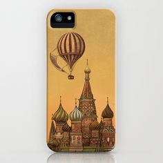 Moving to Moscow   iPhone Case by Terry Fan - $35.00