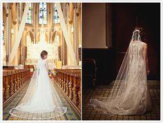 loving this bride's lace dress #jonathangibson #cincinnati #weddingphotography