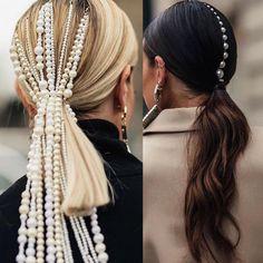 Effortless Side Braid - 30 Elegant French Braid Hairstyles - The Trending Hairstyle French Braid Hairstyles, Box Braids Hairstyles, Pattern Cute, Instagram Hairstyles, Natural Hair Styles, Long Hair Styles, Braided Ponytail, Hair Accessories For Women, Bridal Accessories