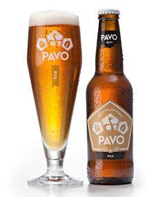 Pavo - Designed by Wicked Brand Culture Beer 101, Homemade Beer, Beers Of The World, How To Make Beer, Beer Label, Beer Brewing, Best Beer, Beer Lovers, Bottle Design