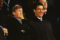 Kenny and Clive Owen enjoying the display from tonights game :D