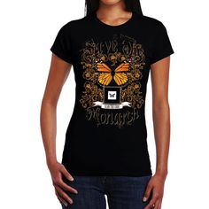 Butterflies Flying, Crown, Mens Tops, T Shirt, Shopping, Clothes, Fashion, Supreme T Shirt, Outfits