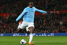 Yaya Toure of Manchester City is on the 2013-2014 PFA Premier League Team of the Year
